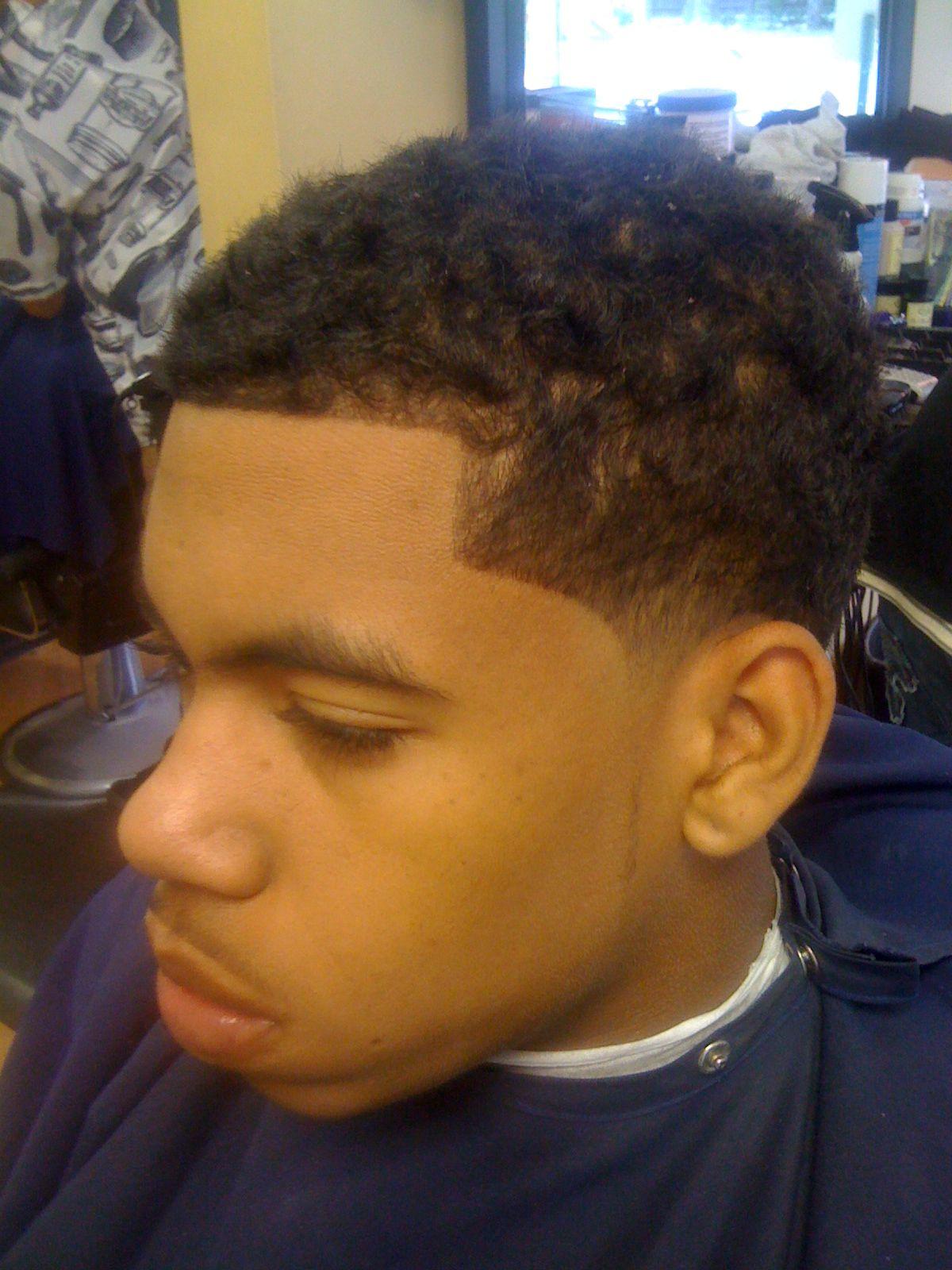 African American Boy Haircuts, Little