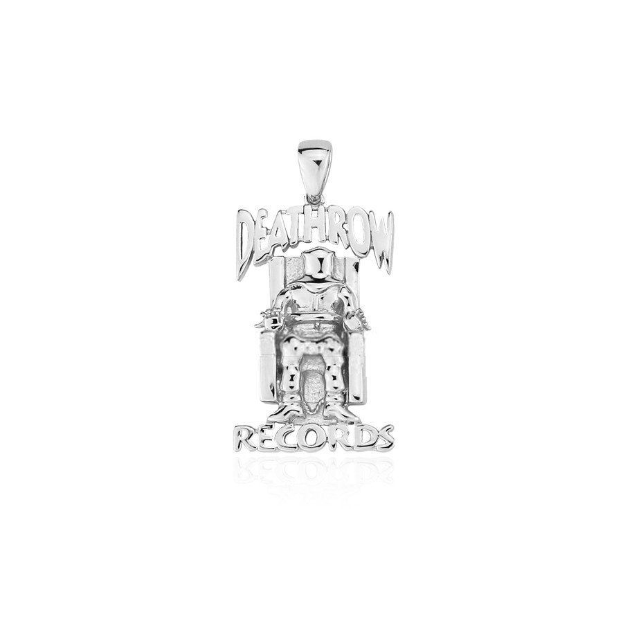 Death row records pendant with free necklace silver now live on death row records pendant with free necklace silver now live on httpswww aloadofball Choice Image