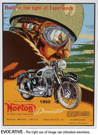 Vintage Vitreous Enamel 2 P280 Vintage Motorcycle Posters Motorcycle Artwork Bike Poster