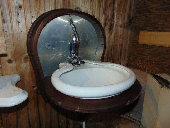 Folding Sink Antique Wood Porcelain Antique Bathroom Sink Sink How To Antique Wood