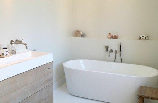 Badewanne freistehend Ideen und inspirierende Badezimmer Beispiele - badezimmer badewanne dusche