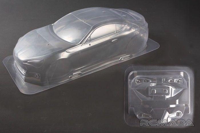 Tamiya 51575 1//10 Subaru BRZ R/&D Sport 2014 Rd.2 Fuji Clear Body Set RC Car