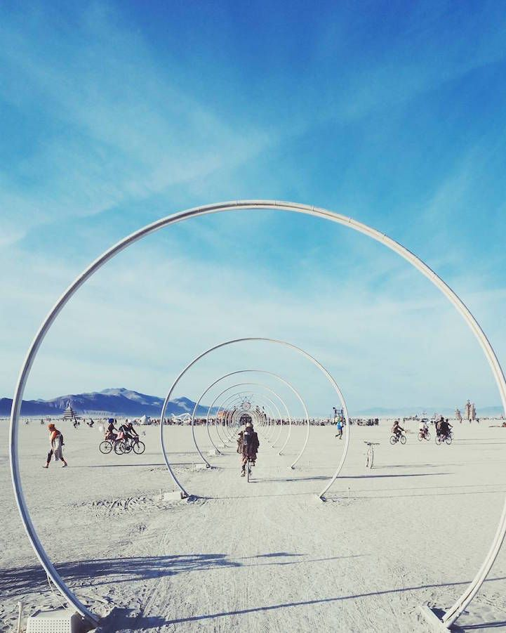 Photos Capturing Burning Man S Creative And Carefree - Fantastic photos of burning man counter culture event taking place in the desert