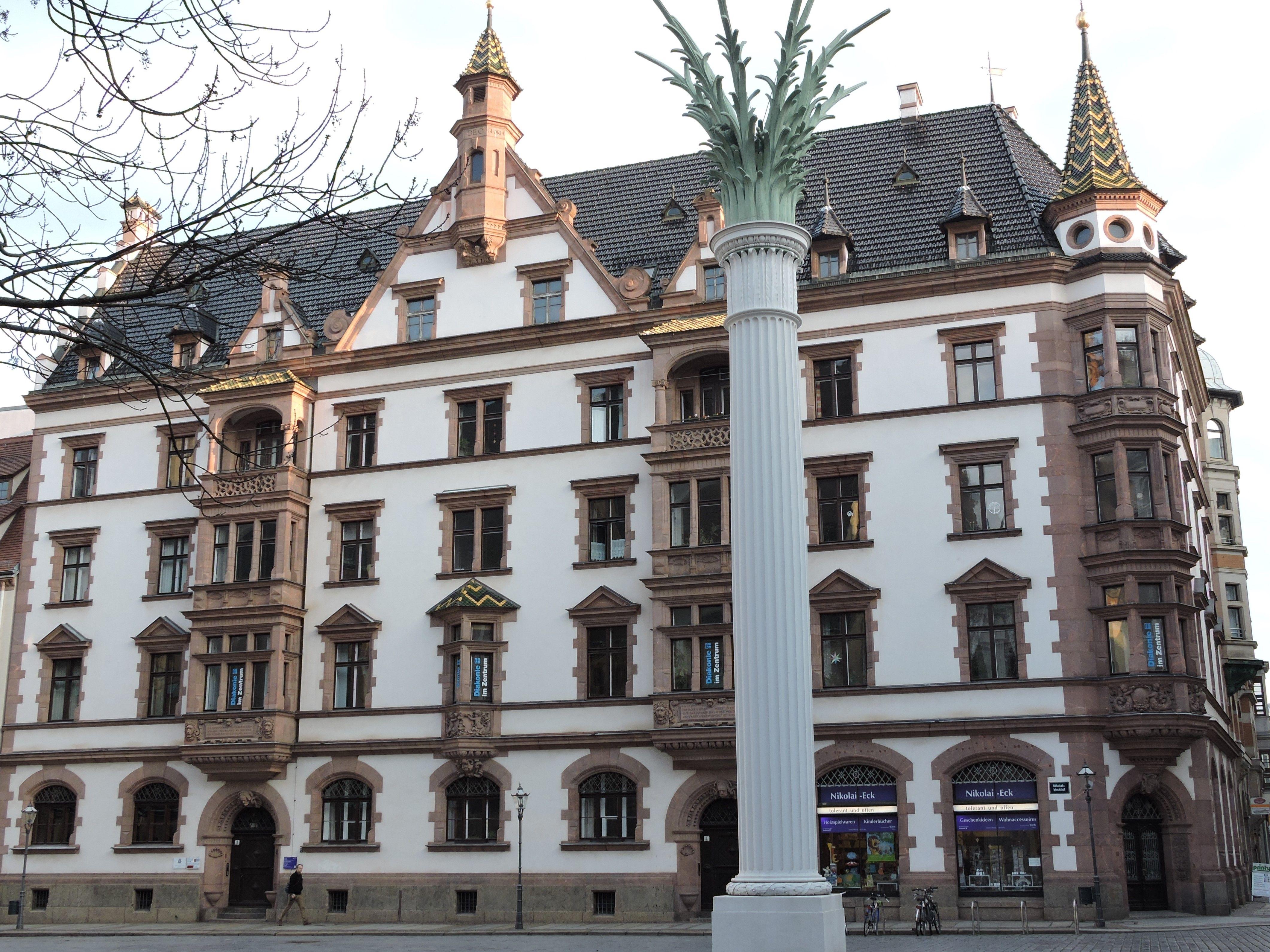 Auf dem Nikolaikirchhof Leipzig Leipzig, Spaziergänge