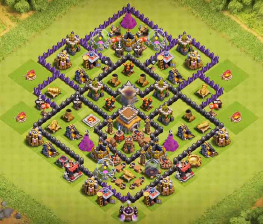 Base Coc Th 8 Trophy 2019 1