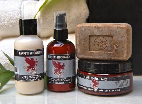 EARTHBOUND Mens Shaving Gift Set EARTHBOUND Mens Shaving Gift Set