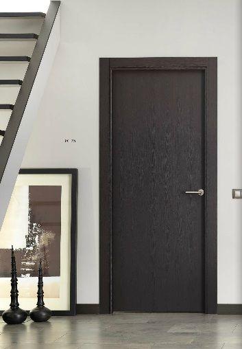 puertas de interior semimaciza vinilo wengue