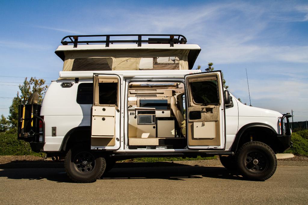 Sportsmobile Custom Camper Vans Preowned Vans