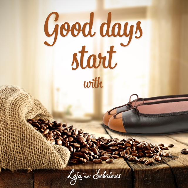 Começa o dia com as nossas Sabrinas Café.  Vão dar-te a energia que precisas para o resto da semana!  Espreita aqui: http://www.lojadassabrinas.com/product/cafe