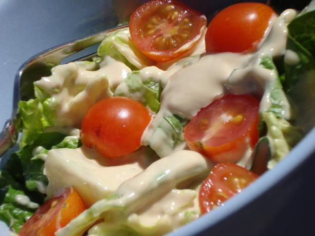 Japanese salad dressing recipe style love this and for Substitute for fish food