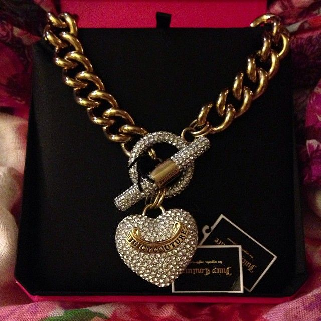# Juicy Couture heart
