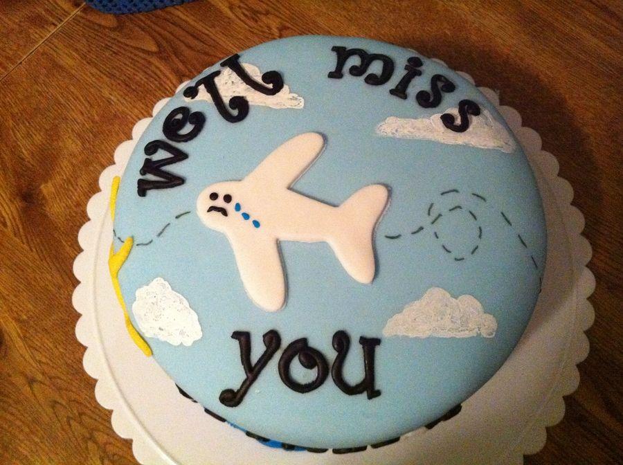 Goodbye Cake Goodbye Cake Going Away Cakes