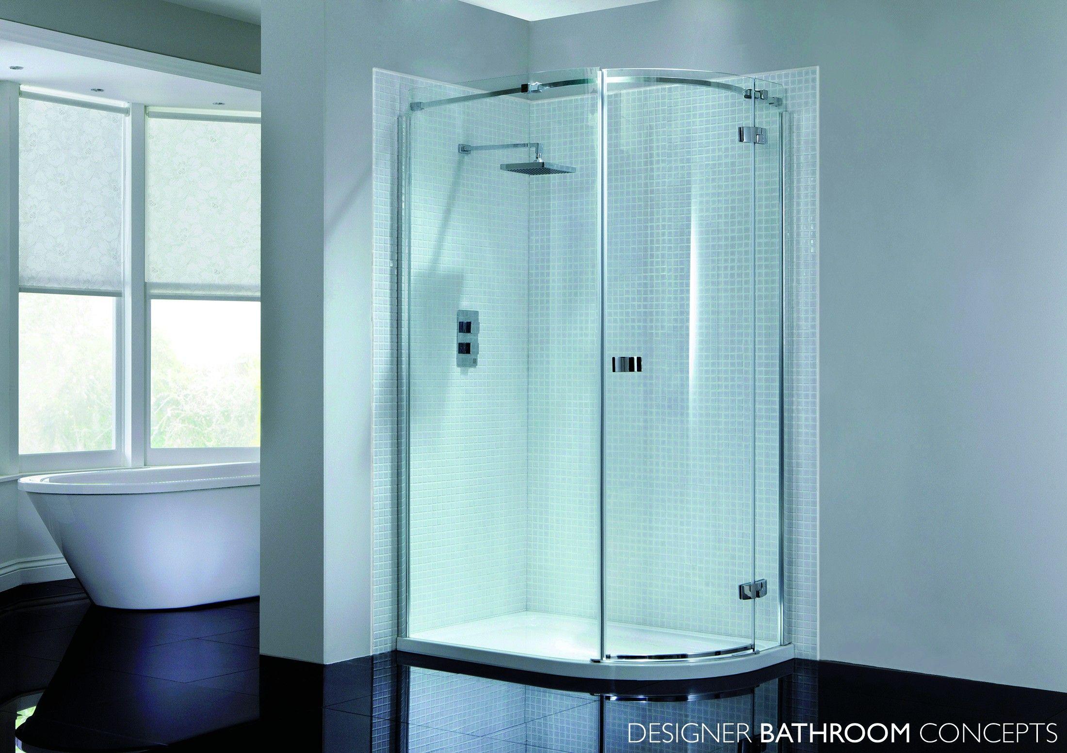 prestige designer 1 door 8mm quadrant shower enclosure from rh pinterest co uk