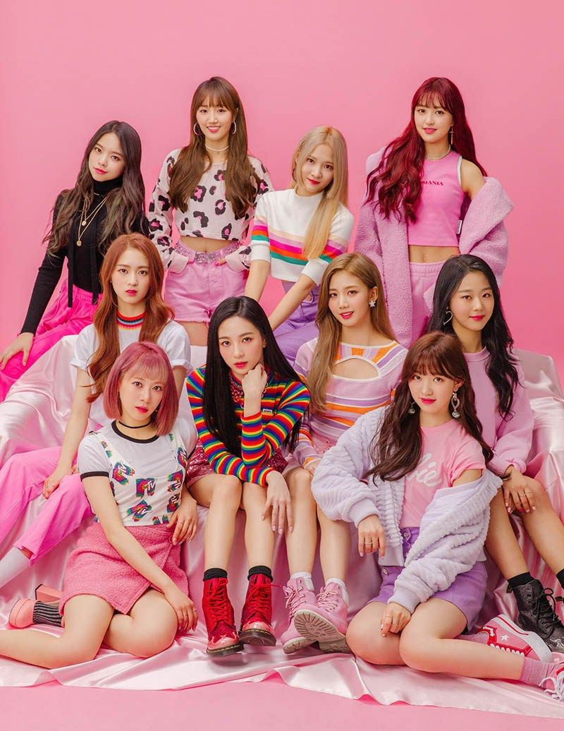 Fnc Entertainment S New 10 Member K Pop Girl Group Cherry Bullet Hab Korea Net Kpop Girls Girl Group Fnc Entertainment