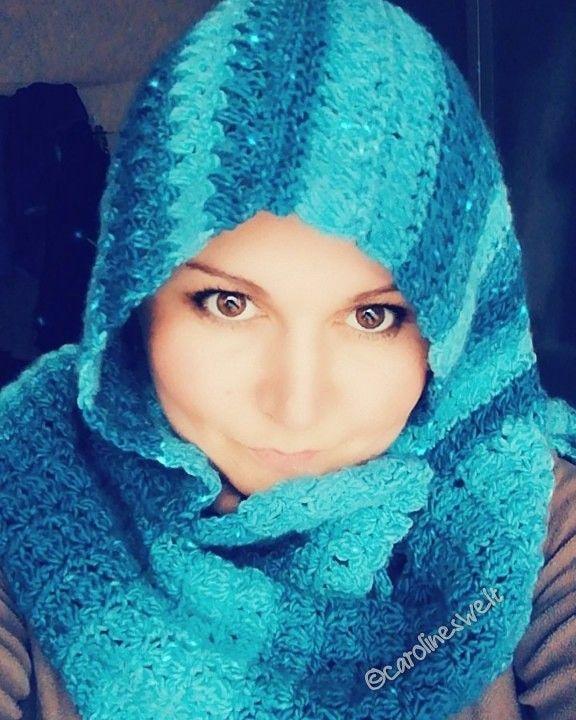 Photo of Scoodie crochet pattern Carolines Welt