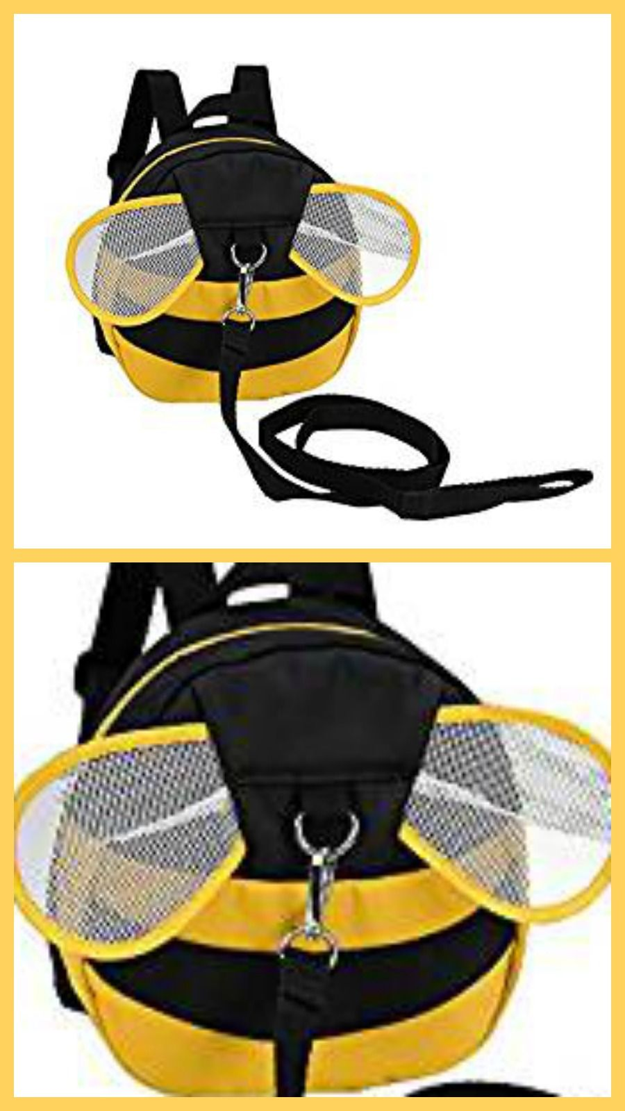 Zicac Baby Toddler Cute Bee Walking Safety Harness