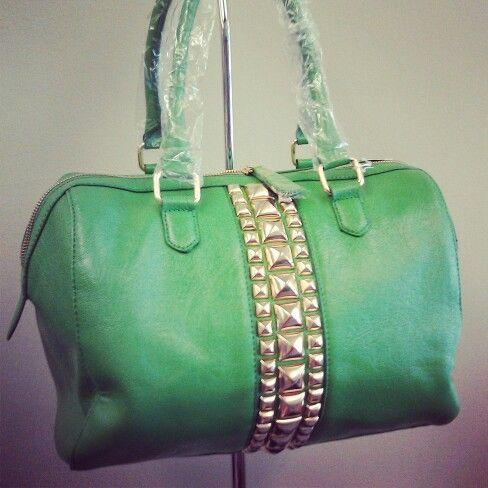Green Bag www.LesliesHandbags.Net