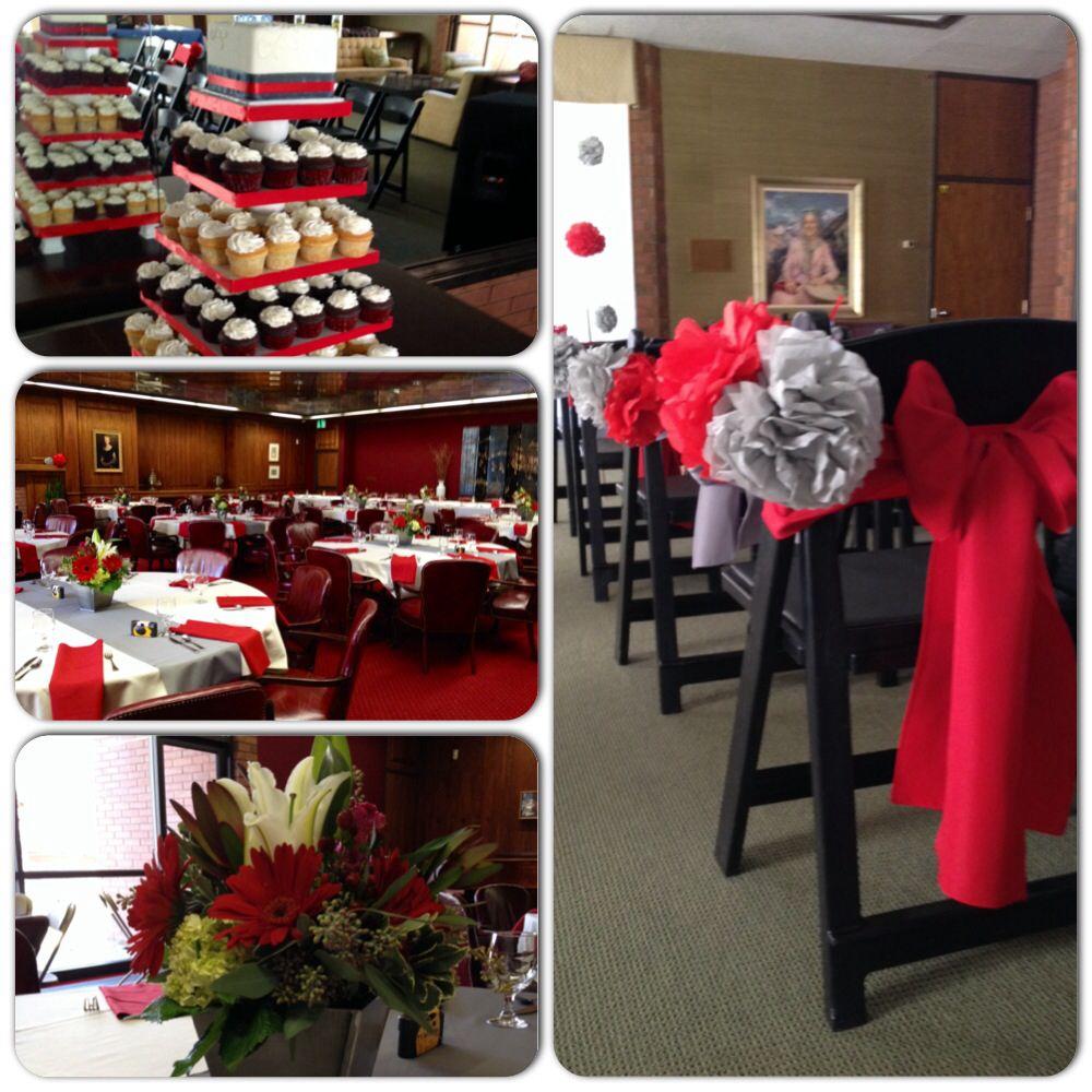 Home Decor Stores Utah: University Of Utah Alumni House #red #utes #cupcakes