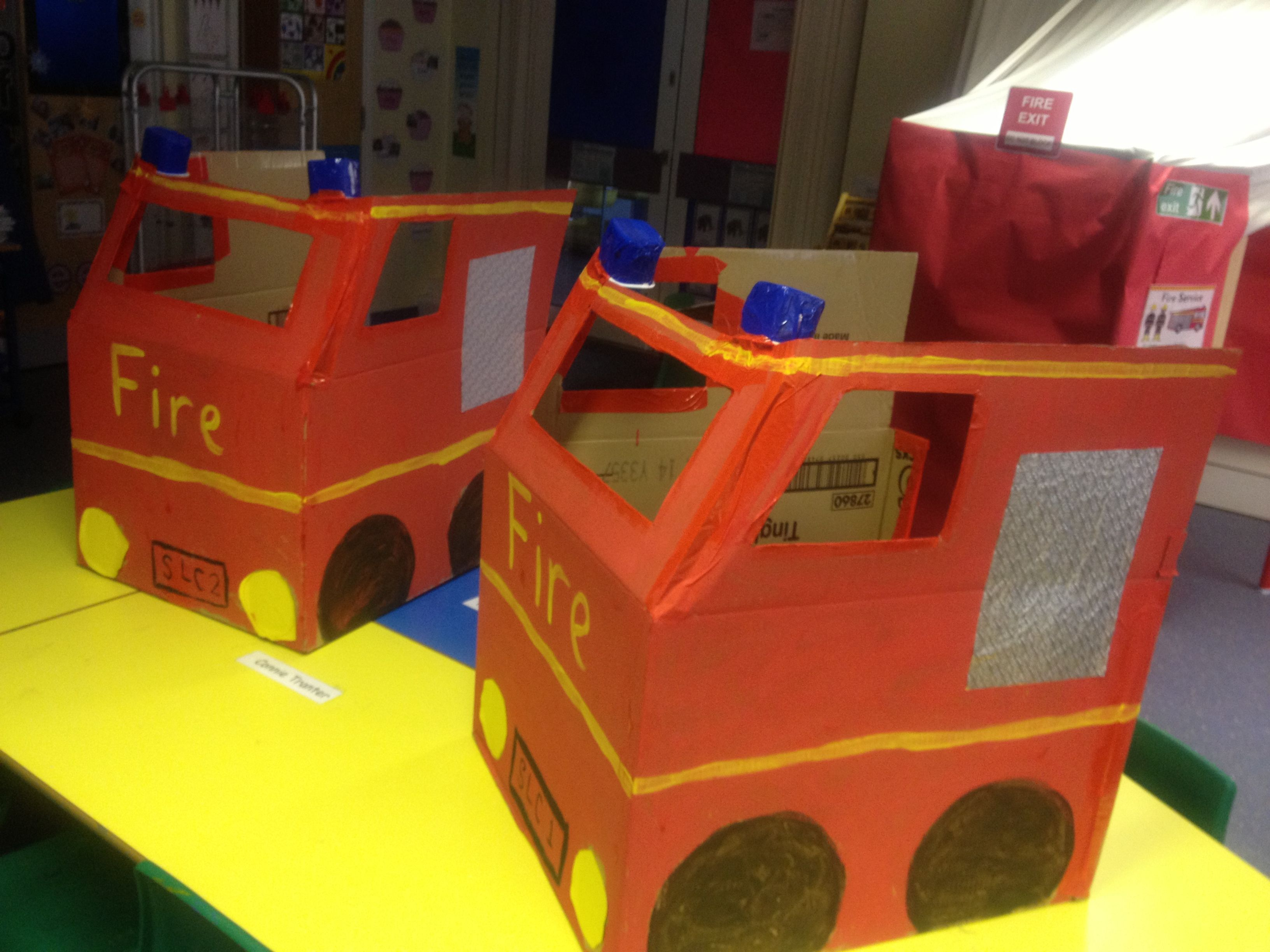 Toys toy boxes and fire trucks on pinterest - Role Play