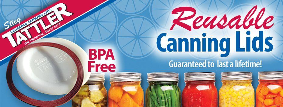 REUSABLE canning lids