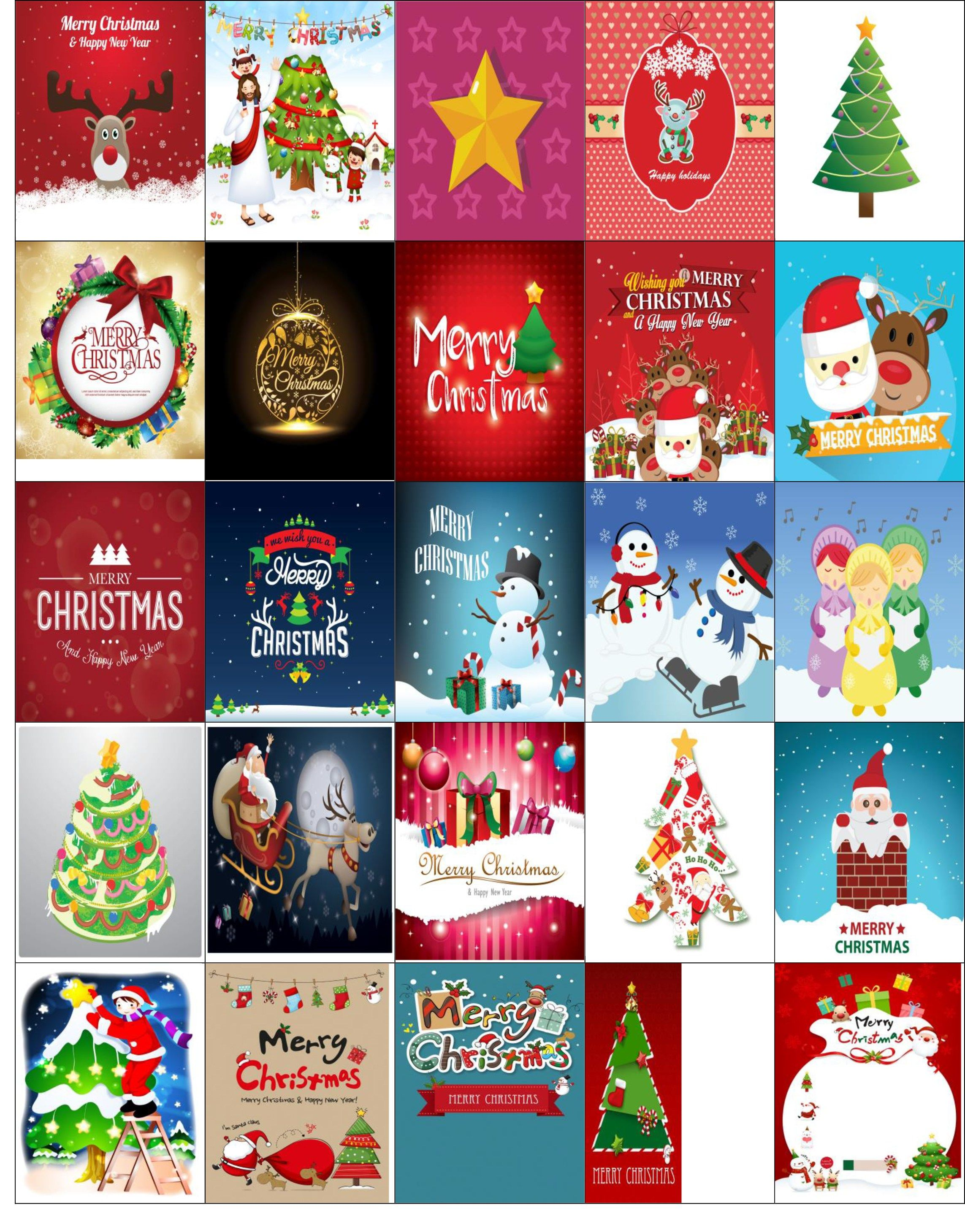 Wild image with free printable christmas stickers