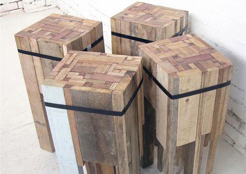 » Lampes en bois de recuperation » Blog déco FactoryChic - Carnet de tendance et d'inspiration