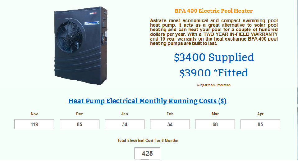 Pool Heating Calculator Can Estimate The Size And Type Of