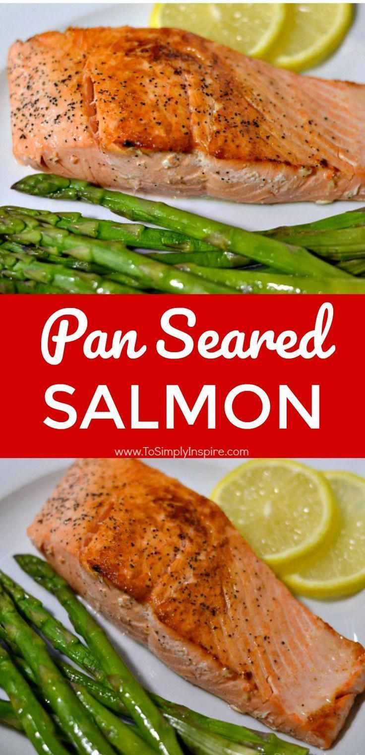 Pan Seared Salmon is simple and deliciously crispy.  A wonderful, healthy dinner! | www.ToSimplyInspire.com #salmon #healthy #easy #Recipes #searedsalmonrecipes Pan Seared Salmon is simple and deliciously crispy.  A wonderful, healthy dinner! | www.ToSimplyInspire.com #salmon #healthy #easy #Recipes #searedsalmonrecipes Pan Seared Salmon is simple and deliciously crispy.  A wonderful, healthy dinner! | www.ToSimplyInspire.com #salmon #healthy #easy #Recipes #searedsalmonrecipes Pan Seared Salmon #searedsalmonrecipes