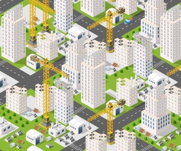 Crane Construction Industry