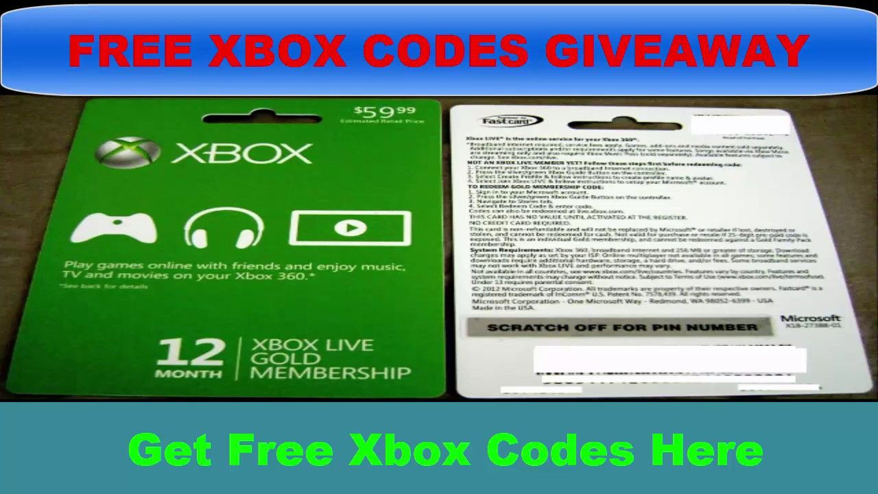 Get Free Xbox Gold Codes how to get free xbox live codes 2019 | xbox gifts, xbox gift