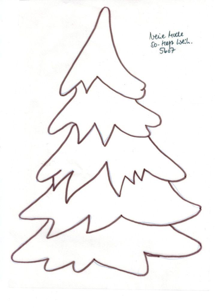 Weihnachtsbaum Vorlagen Dekoking Diy Bastelideen 2