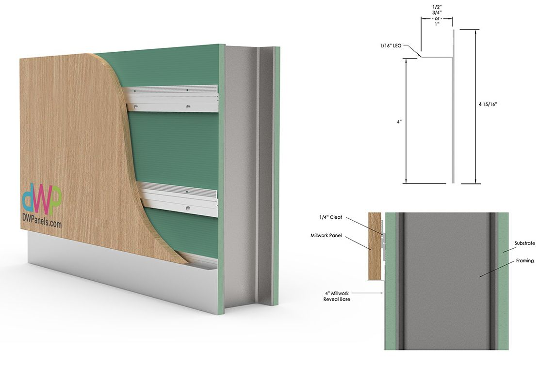 Wall Panel Systems Engineered Panel To Panel 2 Piece U Divider In 2020 Wall Panel System Wall Paneling Panel Systems