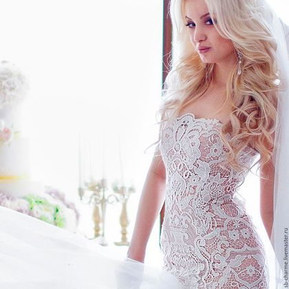 Photo of Lace wedding dress / Handmade clothing and accessories …