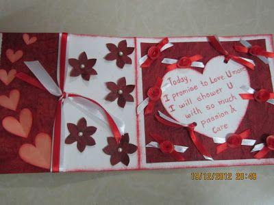Linas Handmade Cards Romantic New Year Card New Year