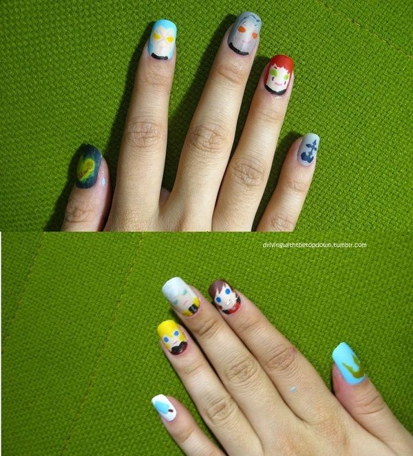 Kingdom Hearts Nails | Nails | Pinterest | Amazing nails
