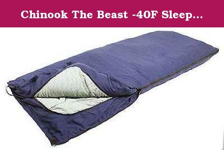 Chinook The Beast 40f Sleeping Bag