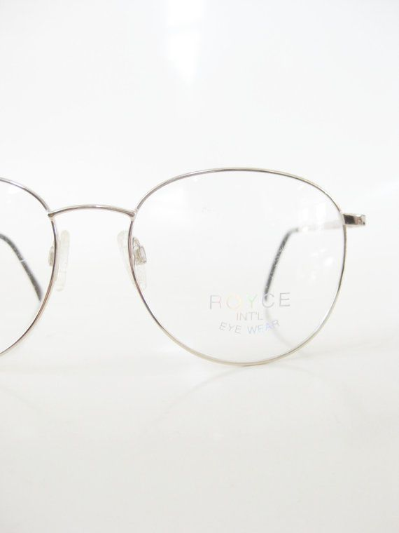 8700afbe44c Round Mens Glasses Gold Geek Chic Wire Rim 1980s Oversized Hipster 80s P3  Guys Homme Sunglasses Deadstock NOS New Old Stock Indie