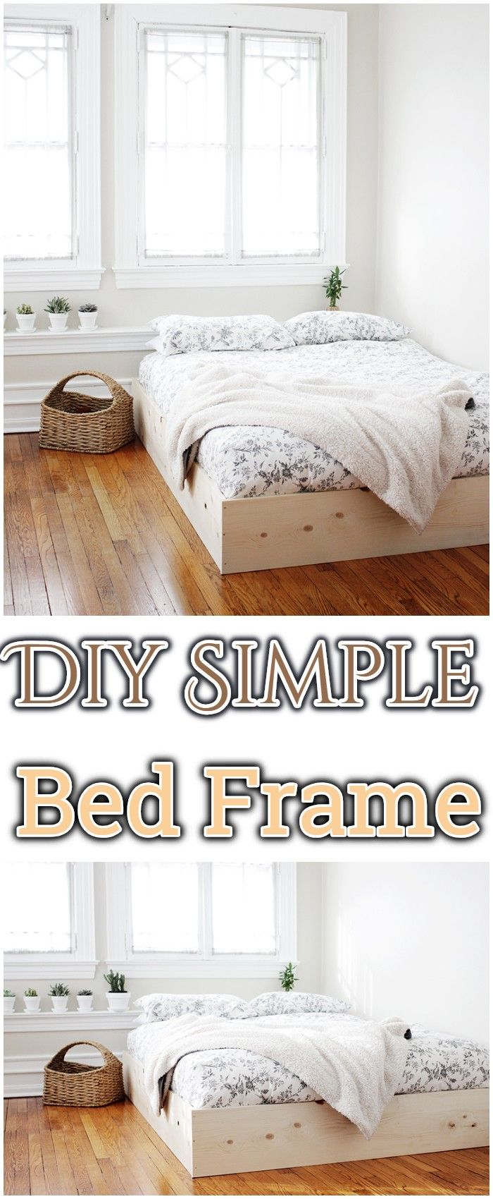 How To Build Diy Bed Frames Queen Bed Frame Diy Simple Bed Frame