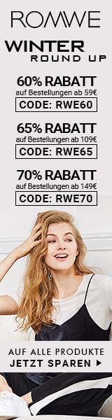 Sparen Sie 70% Rabatt auf Bestellungen über €149 bei de.ROMWE.com http://www.planetgoldilocks.com/clothing.htm #dressfashions #romwe #springfashions #fashioncoupons at #planetgoldilocks