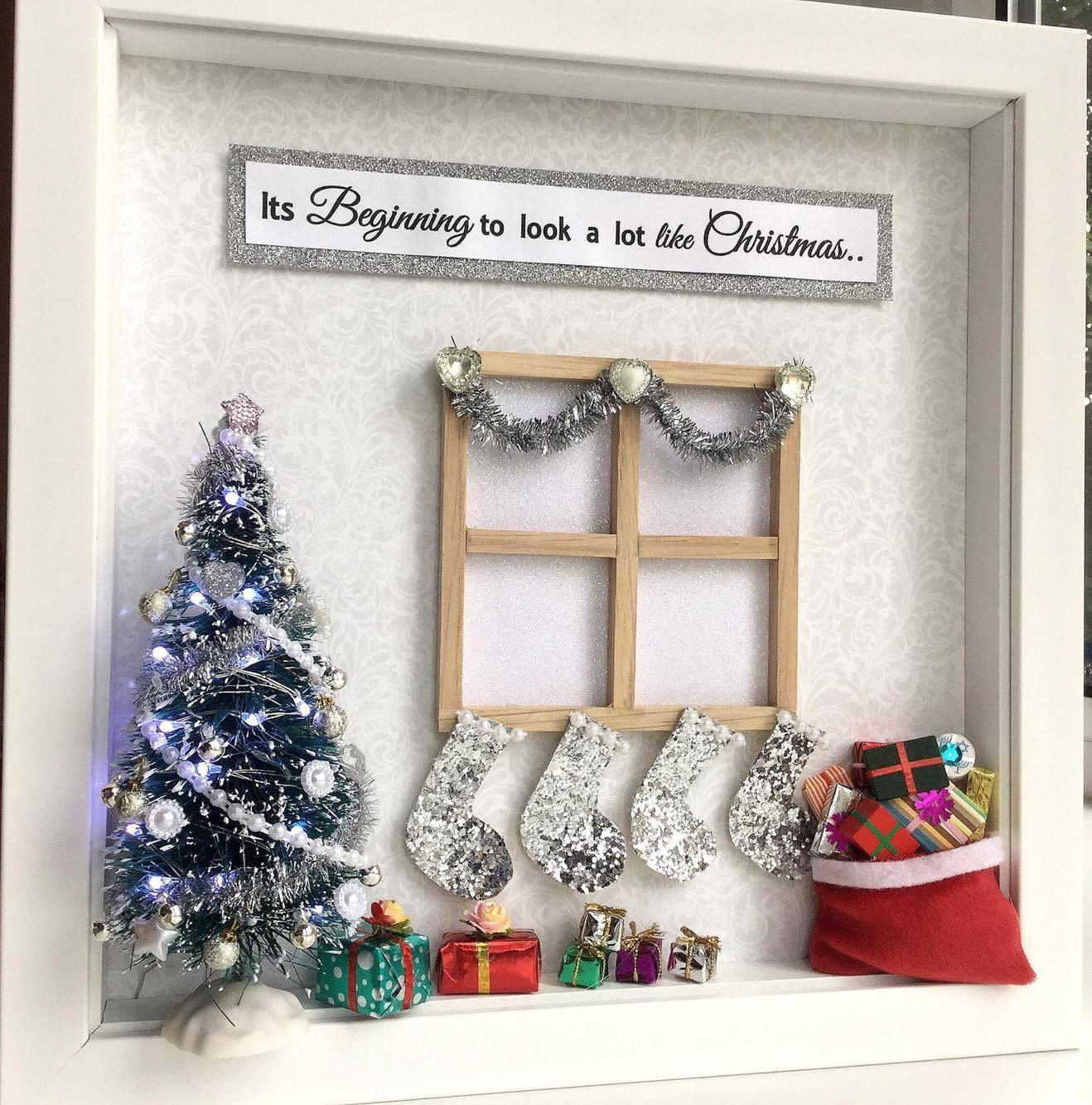 Christmas Eve Scene Frame | December/Christmas/Yule/Winter Solstice ...