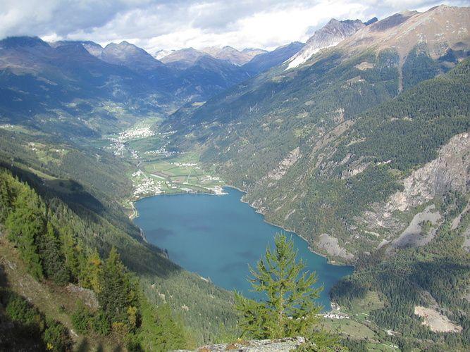 Lago Di Poschiavo Vom Gi 252 Melin Gr Switzerland