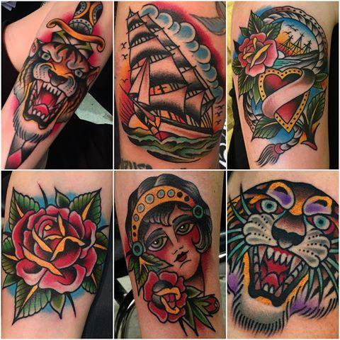 Some stuff done at Bologna tattoo expo. #samuelebriganti # ...