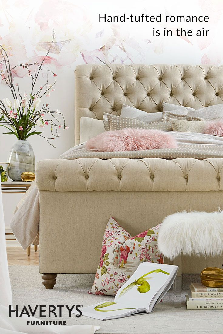 BEDROOM IN BLOOM Refresh your bedroom just in time for