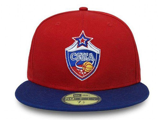57271b5e CSKA Moscow 59Fifty Fitted Baseball Cap by EUROLEAGUE x NEW ERA ...