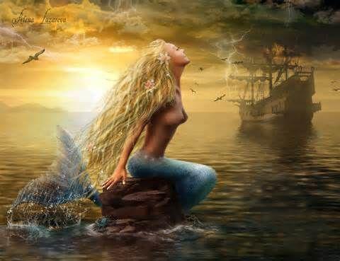 Fantasy mermaid wall art - - Yahoo Image Search Results | Home decor ...