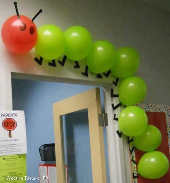 Cute idea for classrooms or kids parties!:)