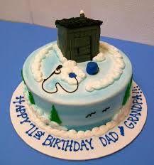 ice fishing cake - Google Search