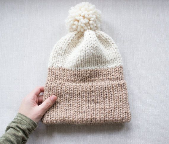 Double Knit Brim Slouchy Beanie Pattern Simply Maggie