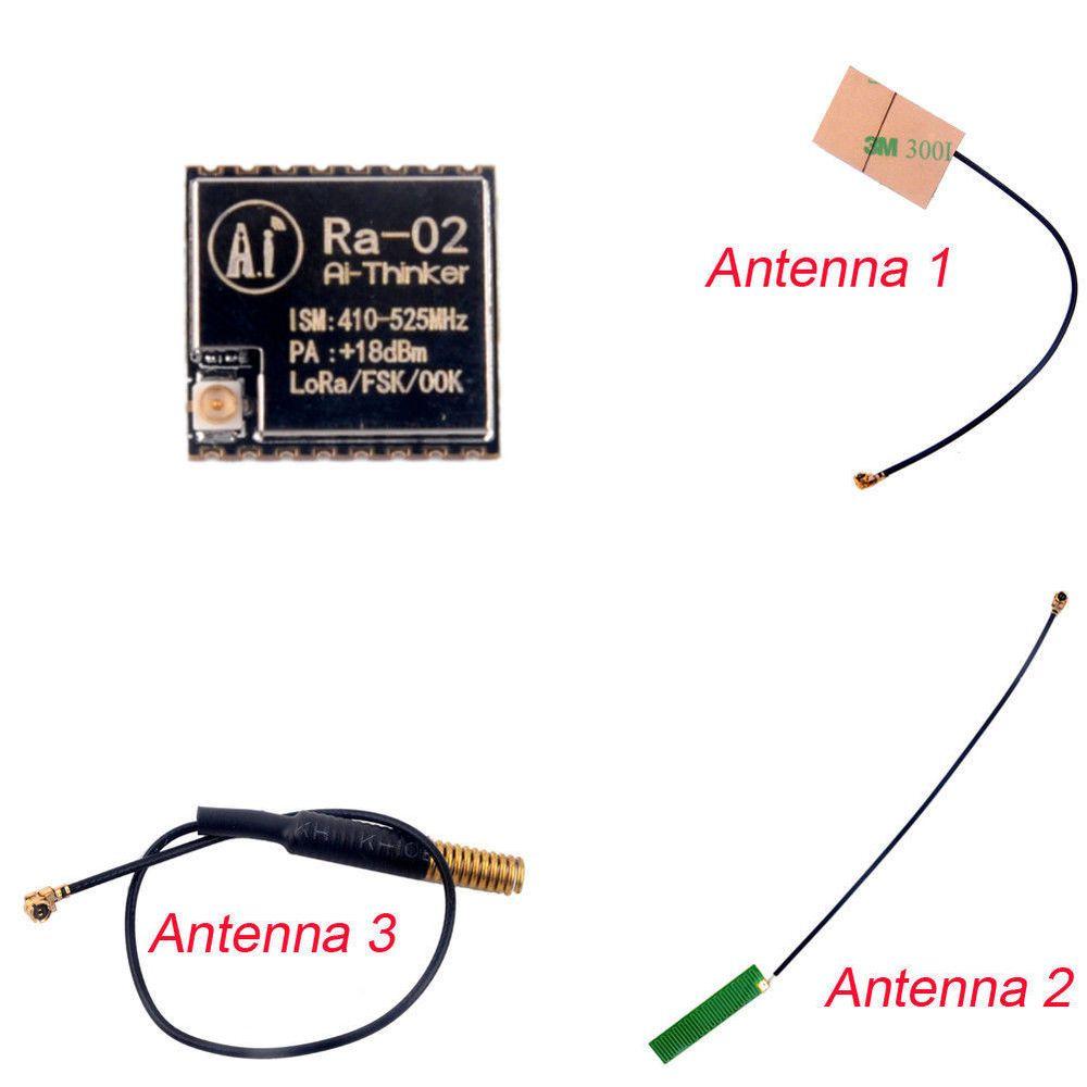 1/2/10Pcs 433MHz Lora Ra-02 Wifi Module SX1278 IPEX Socket