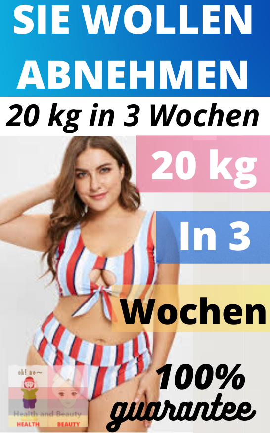 Verlieren Sie 10 Kilo in 1 Monat Freund
